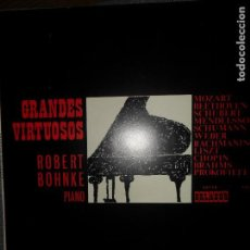 Discos de vinilo: ROBERT BOHNKE, GRANDES VIRTUOSOS. Lote 109194983