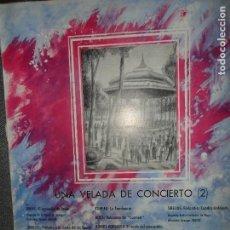 Discos de vinilo: UNA VELADA DE CONCIERTO 2, DUKAS, DEBUSSY, RAMEAU, BIZET, SIBELIUS. Lote 109196167