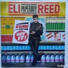 Discos de vinilo: ELI ''PAPERBOY'' REED - '' COME AND GET IT! '' LP EU 2010 SEALED. Lote 109196787