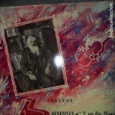 Discos de vinilo: SINFONIA Nº 2 EN RE MAYOR, BRAHMS. Lote 109196895