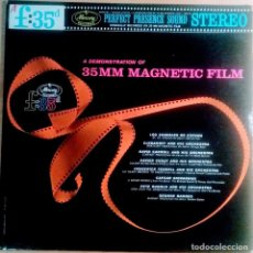 Discos de vinilo: A DEMONSTRATION OF 35MM MAGNETIC FILM. VINILO LP. Lote 109198935