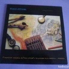 Discos de vinilo: FANTASTICO LP ORIGINAL. FINIS AFRICAE.AMAZONIA. JUAN ARTECHE.EDICIONES CUBICAS. AÑO 1990.+ LIBRETO. . Lote 109200291
