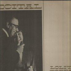 Discos de vinilo: RECITAL DE LOLITA TORRES / ARIEL RAMIREZ LP SELLO PHILIPS EDITADO EN ARGENTINA AÑO 1977. Lote 109200343