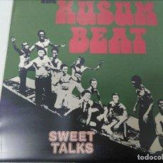 Discos de vinilo: THE KUSUM BEAT - SWEET TALKS. Lote 109210411