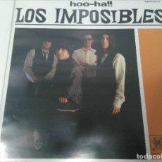 Discos de vinilo: LOS IMPOSIBLES - HOO - HA!!!. Lote 109211439