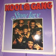 Discos de vinilo: KOOL & THE GANG - STONE LOVE / DANCE CHAMPION. Lote 109212079
