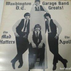 Discos de vinilo: WASHINGTON DC GARAGE BANDAS GREATS. Lote 109212259