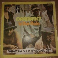 Discos de vinilo: DRAMATICS ?– IN THE RAIN / (GIMME SOME) GOOD SOUL MUSIC. Lote 109212523