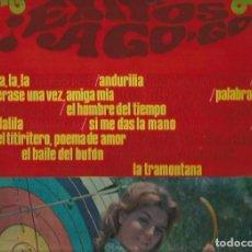 Discos de vinilo: MASSIEL / JUAN & JUNIOR / LOS BRINCOS... LP SELLO NOVOLA EDITADO EN ESPAÑA AÑO 1968 EXITOS A GO-GO. Lote 109214039