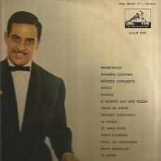Discos de vinilo: JOSE GUARDIOLA LP SELLO LA VOZ DE SU AMO EDITADO EN ESPAÑA AÑO 1961. Lote 109214651