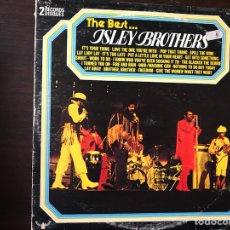 Discos de vinilo: THE BEST...ISLEY BROTHERS. Lote 109223400