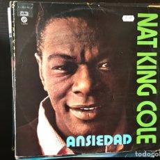 Discos de vinilo: ANSIEDAD. NAT KING COLE. Lote 109231443