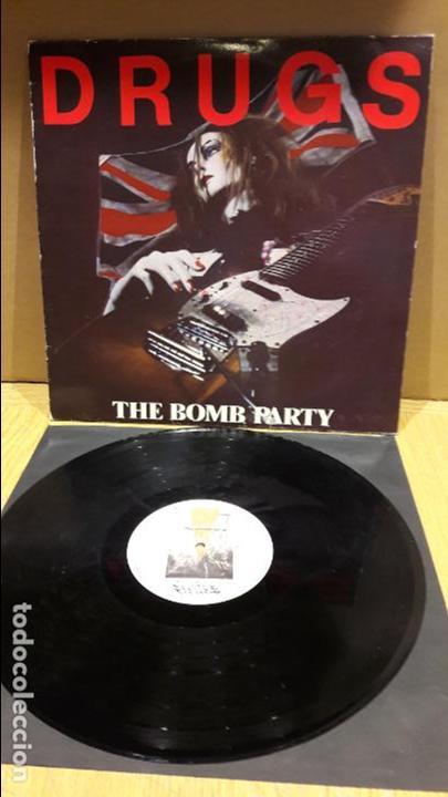 DRUGS / THE BOMB PARTY / LP / LAMIA - 1987 / MBC. ***/*** (Música - Discos - LP Vinilo - Punk - Hard Core)