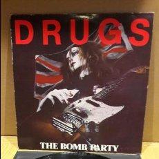 Discos de vinilo: DRUGS / THE BOMB PARTY / LP / LAMIA - 1987 / MBC. ***/***. Lote 109237475