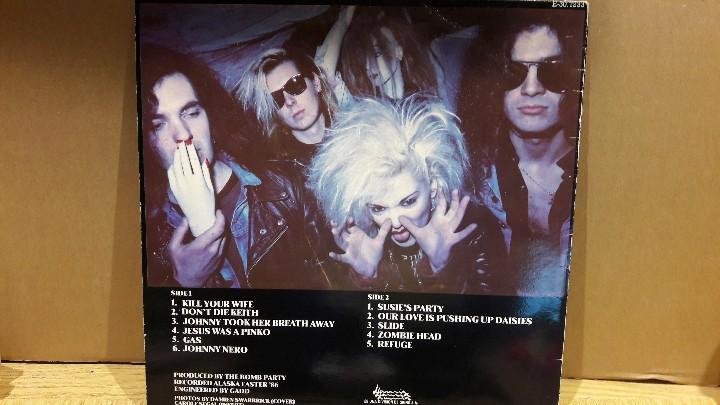 Discos de vinilo: DRUGS / THE BOMB PARTY / LP / LAMIA - 1987 / MBC. ***/*** - Foto 2 - 109237475