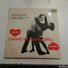 Discos de vinilo: MAX GREGER Y SU ORQUESTA- EP DAMA Y CABALLERO TANGO RUMBA- ORLADOR 1965 ESPAÑA 6. Lote 109258030