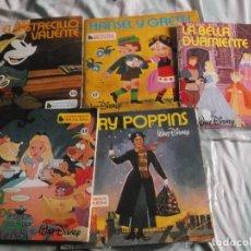 Discos de vinilo: LOTE DE CUENTO DISCOS INFANTILES DE BRUGUERA ORIGINALES DE LA EPOCA. Lote 109262371