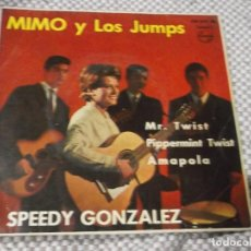 Discos de vinilo: MIMO Y LOS JUMPS-EP EDICION ORIG-SPEEDY GONZALEZ. Lote 109263075