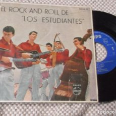 Discos de vinilo: EL ROCK AND ROLL DE LOS ESTUDIANTES- EP ORIGINAL. Lote 109263339
