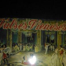 Discos de vinilo: VALSES VIENESES DE STRAUSS. VOLUMEN I. POR ORQUESTA VIENESA DE CONCIERTOS. DANUBIO AZUL, VINO, MUJER. Lote 109270003