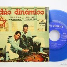 Discos de vinilo: DISCO EP DE VINILO - DÚO DINÁMICO. EXODUS, SURRENDER, ¡OH NO!, RECUERDA - LA VOZ DE SU AMO, 1961. Lote 109274788