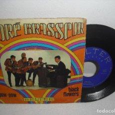 Discos de vinilo: ANDRE BRASSEUR - POW POW + BLACK FLOWERS / BELTER - AÑO 1968. Lote 109276731