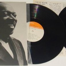 Discos de vinilo: 2 LP - COUNT BASIE - 1939-1951 - MADE IN JAPAN - GATEFOLD - MUY RARO DE VER - BASIE. Lote 109286083