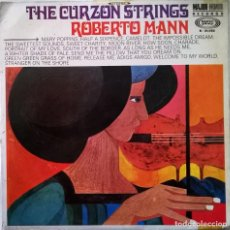 Discos de vinilo: THE CURZON STRINGS, ROBERTO MANN-THE CURZON STRINGS, SONOPLAY-S-21.022, MAJOR MINOR-S-21.022. Lote 109289887