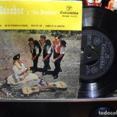 Discos de vinilo: MARY SANCHEZ Y LOS BANDAMA - GRAN CANARIA - EP RARO DE 1959 - FOLKLORE CANARIO. Lote 109299063