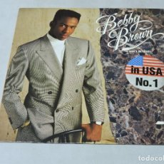 Discos de vinilo: BOBBY BROWN - DON'T BE CRUEL LP GERMANY. Lote 109319667