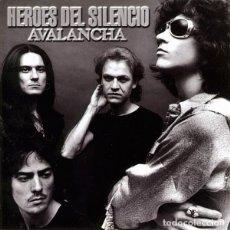 Discos de vinilo: HEROES DEL SILENCIO - AVALANCHA - LP VINILO - EDICIÓN ESPAÑOLA 2007 - EMI – 7243 5 35530 1 3. Lote 109321219
