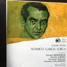 Discos de vinilo: FEDERICO GARCÍA LORCA. Lote 109323490