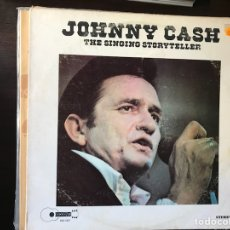 Discos de vinilo: THE SINGING STORYTELLER. JOHNNY CASH. Lote 109326032