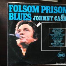 Discos de vinilo: FOLSOM PRISON BLUES. VOL. 1. JOHNNY CASH. Lote 113460692