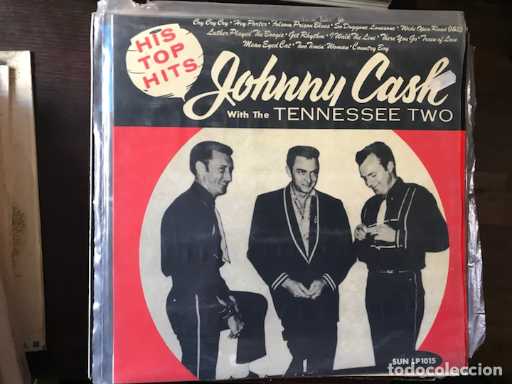 JOHNNY CASH WITH THE TENNESSEE TWO (Música - Discos - LP Vinilo - Country y Folk)