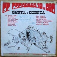 Discos de vinilo: EL ESCARABAJO DE ORO CANTA Y CUENTA LP 1969 RARO DISCO DE VINILO DE LA REVISTA ARGENTINA DE POESIA . Lote 109327863