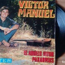 Discos de vinilo: SINGLE (VINILO) DE VICTOR MANUEL AÑOS 60. Lote 109331095