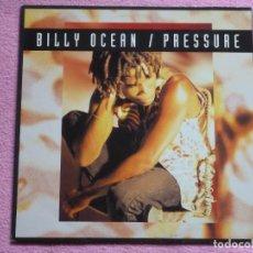 Discos de vinilo: BILLY OCEAN,PRESSURE EDICION HOLANDA DEL 93. Lote 109332799