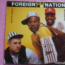 Discos de vinilo: FOREIGN NATION,STATE OF A NATION EDICION ESPAÑOLA DEL 91. Lote 109333483