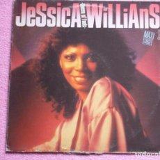 Discos de vinilo: JESSICA WILLIAMS,QUEEN OF FOOLS EDICION ESPAÑOLA DEL 85 PROMO. Lote 109336175
