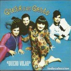 Discos de vinilo: GRETA Y LOS GARBO - QUIERO VOLAR - SINGLE SPAIN 1992 . Lote 109338119