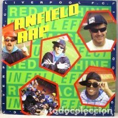 Discos de vinilo: LIVERPOOL F.C.– ANFIELD RAP - MAXI-SINGLE UK 1988 . Lote 109341967