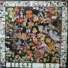 Discos de vinilo: ESTADO CRITICO REGGAE RAP, MAXI-SINGLE SPAIN 1991 . Lote 109342411