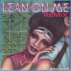 Discos de vinilo: CLUB NOUVEAU – LEAN ON ME (REMIX) , MAXI-SIGLE US 1987. Lote 109342715