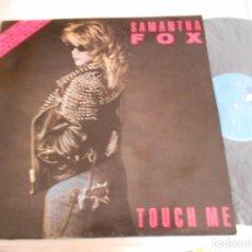 Discos de vinilo: SAMANTHA FOX-LP TOUCH ME. Lote 109344867