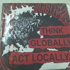 Discos de vinilo: VARIOUS – THINK GLOBALLY, ACT LOCALLY.-2 X SINGLE-N. Lote 109348855