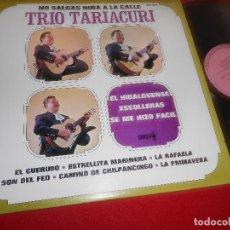 Disques de vinyle: TRIO TARIACURI NO SALGAS NIÑA A LA CALLE LP 1974 DIMSA MEXICO. Lote 109352311