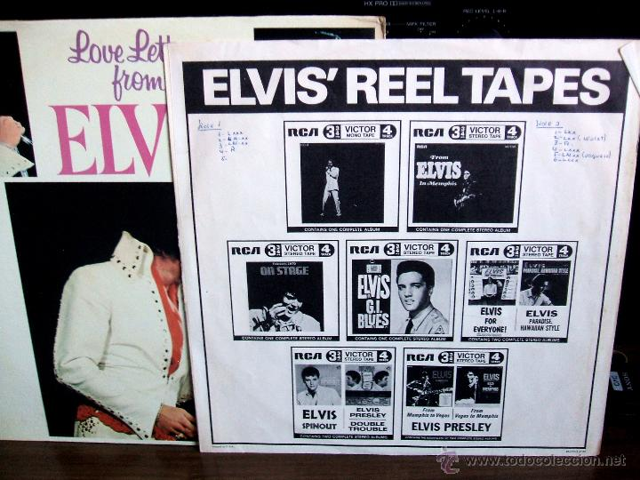Discos de vinilo: ELVIS PRESLEY - LOVE LETTERS FROM ELVIS - (LSP-4530) RCA VICTOR / USA, 1971 / - Foto 4 - 47836769