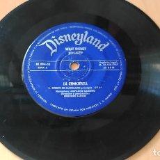 Discos de vinilo: BAMBI (CUENTO + CANTO AL AMOR + LAS GOTITAS) WALT DISNEY - DISNEYLAND RECORDS. Lote 109355895