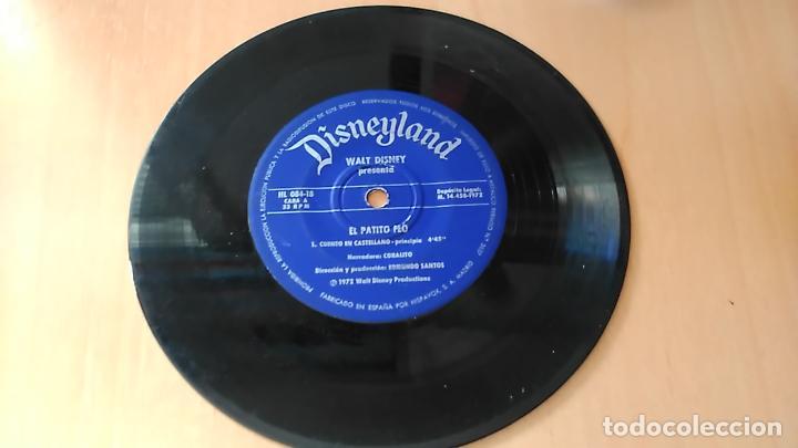 EL PATITO FEO (CUENTO + ESTE ERA UN PATO) WALT DISNEY - DISNEYLAND RECORDS (Música - Discos de Vinilo - EPs - Música Infantil)
